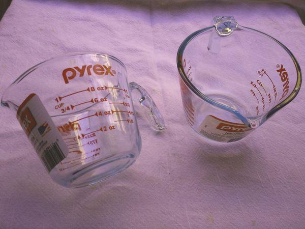 Pyrex measuring cup 1 cup - 250ml. ( 2 pk)
