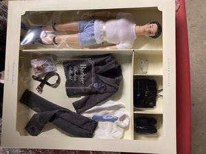 Rare Find! 2002 First Silkstone Barbie Ken collector set in box with clothes & accessories shipping carton for Sale in Lockport, IL