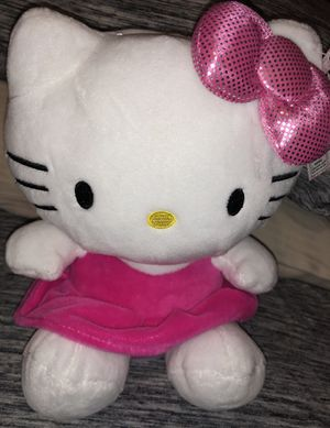 Hello kitty plush coin bank for Sale in Poinciana, FL