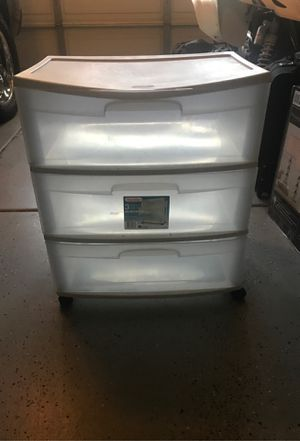 Plastic drawers for Sale in Fontana, CA