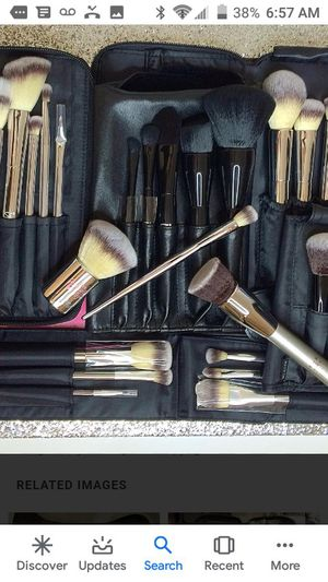 Brushes from make up store straight out of mall brand new never used and also lipsticks makeup for Sale in Las Vegas, NV