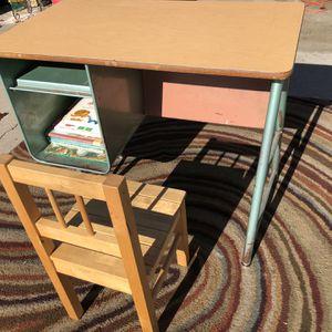 Vintage kids desk for Sale in Modesto, CA