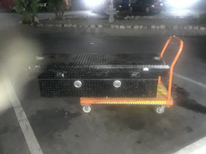 """69"""" x 20"""" x 20"""" Tool Box for back of truck for Sale in Stanton, CA"""