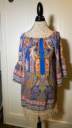 Paisley spring summer dress for Sale in Bakersfield, CA
