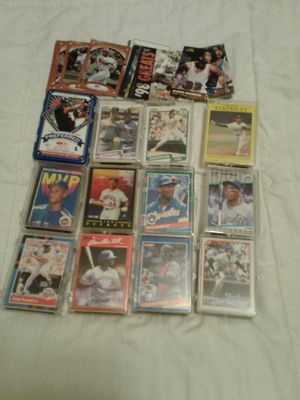 Wide variety of sports trading cards excellent condition baseball basketball football $45 or sets could be bought separately for Sale in Sebring, FL