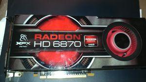 XFX Radeon HD 6870 video card for Sale in Tualatin, OR