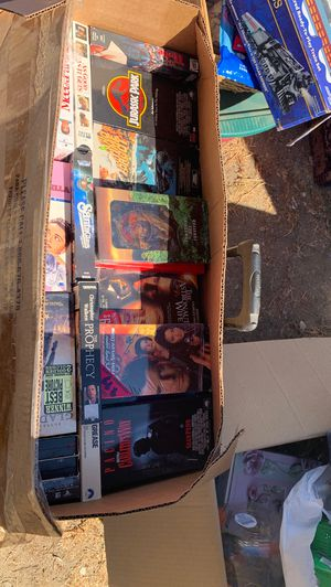 Box of VHS movies for Sale in Fontana, CA