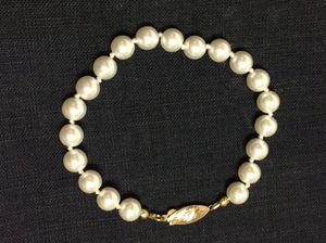 """8"""" pearl bracelet for Sale in Poulsbo, WA"""
