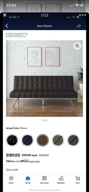 black sofa bed for Sale in San Francisco, CA