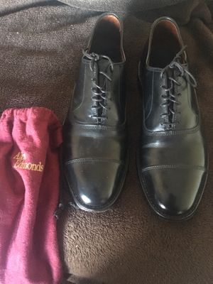 Like new Allen Edmonds leather shoes 8.5 for Sale in Chicago, IL
