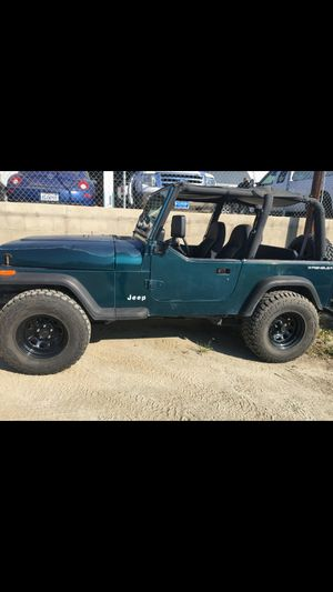 95 jeep wrangler for Sale in Porterville, CA