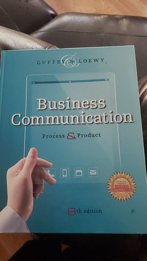 Business communication 8th edition college text book for Sale in Pasadena, TX
