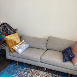 West Elm Couch - One Year Old - Needs To Go ASAP  for Sale in Denver, CO
