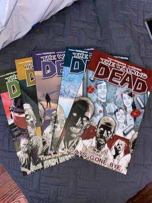 The Walking Dead Comics Volume 1-5 for Sale in Bridgeport, CT