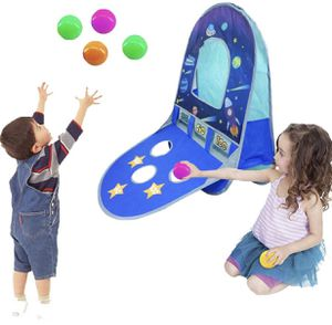 Kids/Children Waterproof Foldable Pop Up Indoor and Outdoor Basketball Score Hoop with 4 Balls Play Tent/Play House/Toys As a Gift for 1-6 Years Old for Sale in Vista, CA