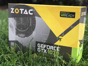 Zotac GeForce GTX 1070 Founders Edition Graphics Card for Sale in Oakley, CA