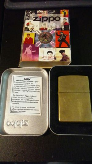 Zippo lighter in original Elvis Presley sleeve for Sale in Murfreesboro, TN