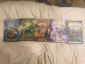1st 5 spirit animal books (hard cover) for Sale in Mesa, AZ