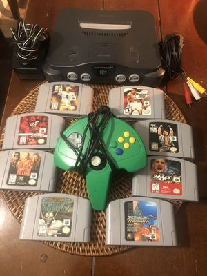 NINTENDO 64 AND GAMES for Sale in Austin, TX