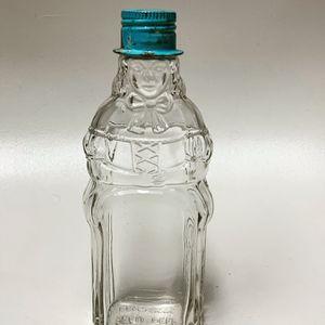 Vintage Little Beau Peep Glass Bottle With Hat Lid for Sale in Mesa, AZ