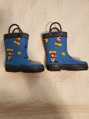 Kids Mickey Mouse rain boots for Sale in Longwood, FL