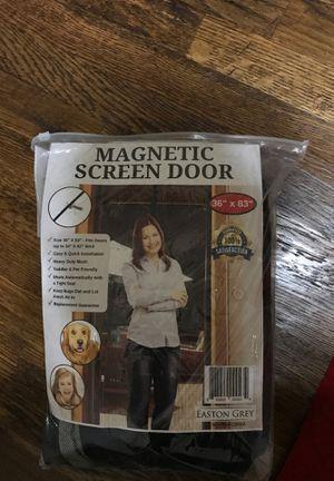 Magnetic screen door for Sale in Allen, TX