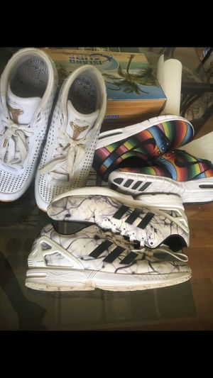 Nike and Adidas shoe bundle size 12 for Sale in Rockville, MD