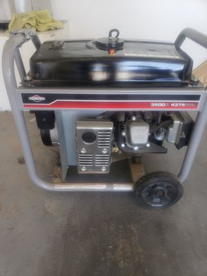 Gasoline portable Generator 4375 watts for Sale in North Las Vegas, NV