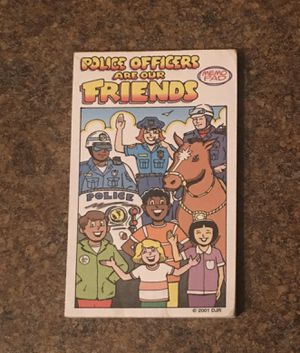 Police Officers Are Our Friends Mini Note Pad for Sale in Fox Lake, IL