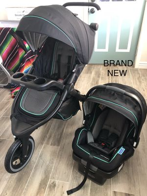 Graco Fitfold Jogger Travel System Stroller Jude for Sale in Phoenix, AZ