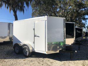 New 7x10TA Enclosed Trailer Diamond Cargo Rear Ramp for Sale in Tampa, FL
