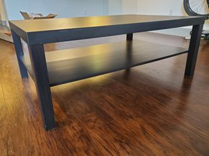 Large Black coffee table for Sale in Spring, TX