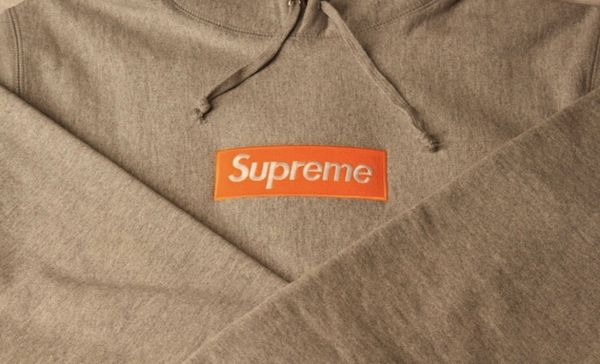 Supreme fw17 box logo hoodie xl
