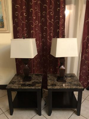 End tables and lamps for Sale in Tamarac, FL