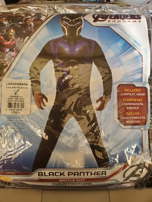 New Large black panther costume for Sale in Oak Lawn, IL