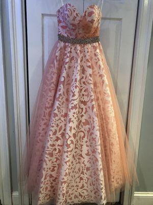 Pink Rachel Allen pageant/prom dress for Sale in Amissville, VA