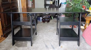 Black Sawhorse Desk for Sale in Friendswood, TX