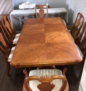 Used, BEAUTIFUL WOOD DINING ROOM SET for Sale for sale  Kenilworth, NJ