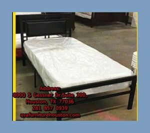 twin bed frame with mattress for Sale in Houston, TX