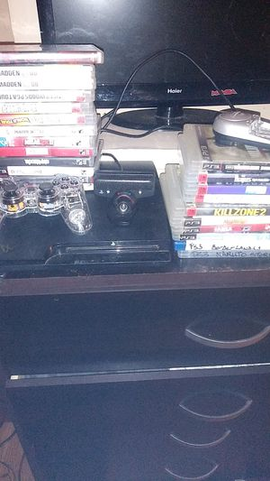 60 bucks..Ps3. 24 games.web cam.. N battery charger for Sale in Willoughby, OH