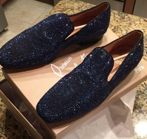 Red bottom loafers size 9-10-11-12-13 brand new prom coming soon $240 for Sale in Arlington, VA