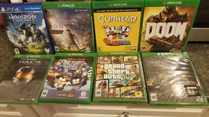 Ps1, Ps4, Xbox1, nintendo DS,and Switch Games. for Sale in Orlando, FL