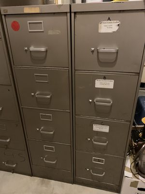 Steelcase 4 drawer filing cabinet for Sale in Chesapeake, VA
