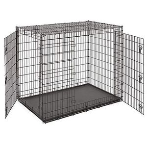 Extra large double door dog crate with divider for Sale in Renton, WA