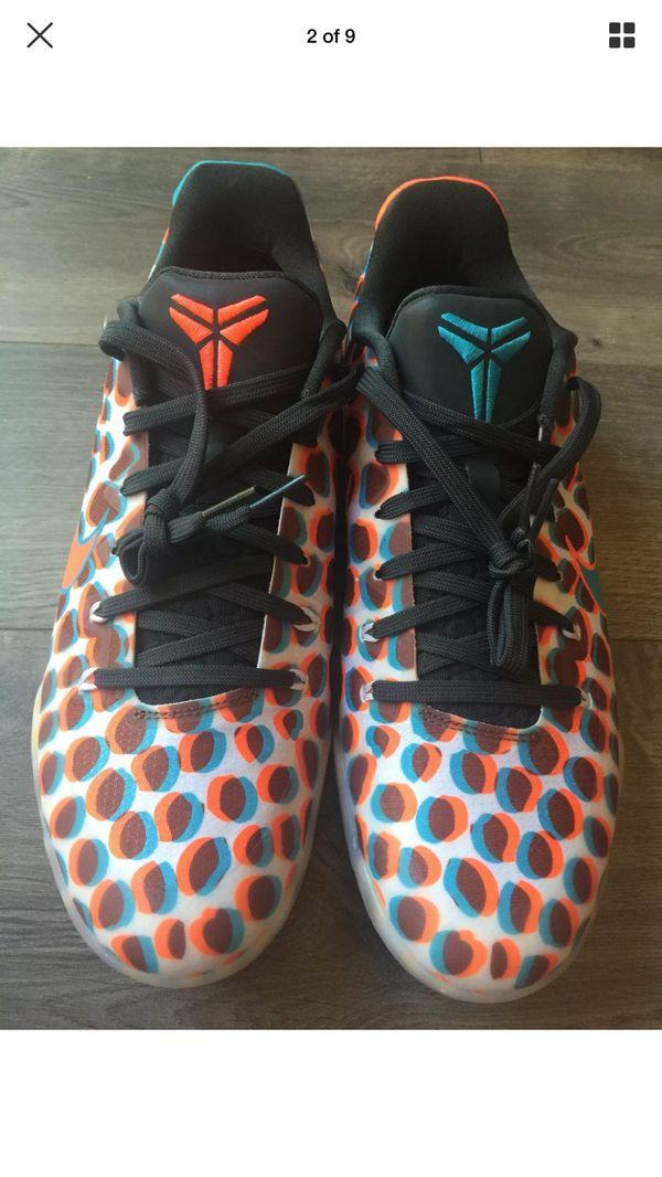 3b7e2413ec3 Nike Mens Kobe XI 11 Low 3D Basketball Shoes Sneaker Orange Size 9 ...