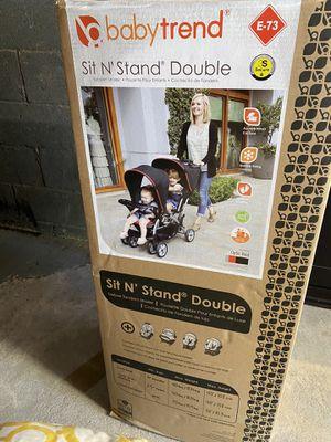 Baby trend double stroller for Sale in Woodbridge Township, NJ