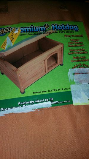 Medium size hotdog pet house insulation kit for Sale in Dublin, OH