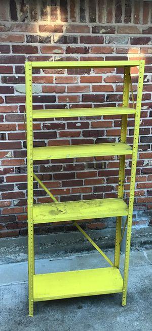 "Garage 5 Shelf Yellow Storage 6 Ft Tall x 30"" per shelf for Sale in Houston, TX"