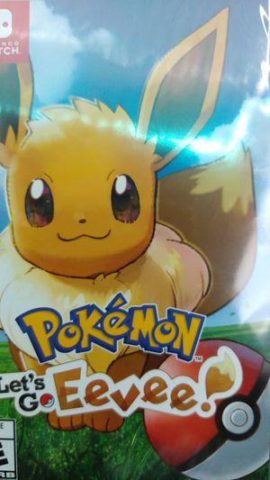Pokemon let's go Eevee for Sale in Inglewood, CA