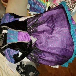 Girls Size 4-6 Witches Costume Dress Up Play for Sale in Philadelphia, PA